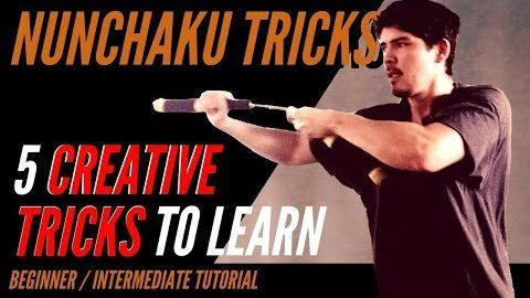 5 Creative and Awesome Nunchaku Trick Combos