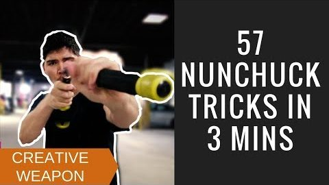 57 Amazing Tricks That Will Make You Think Twice about Nunchaku